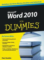 Microsoft Word 2010 für Dummies
