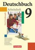 Deutschbuch, Neue Grundausgabe: 9. Schuljahr, Arbeitsheft