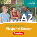 Pluspunkt Deutsch, Ausgabe 2009: 1 Audio-CD (Lektion 8-14); Bd.A2/2