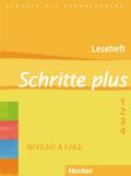 Schritte plus - Deutsch als Fremdsprache: Leseheft; Bd.1-4
