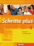 Schritte plus - Deutsch als Fremdsprache: Kursbuch + Arbeitsbuch; Bd.4