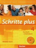 Schritte plus - Deutsch als Fremdsprache: Kursbuch + Arbeitsbuch, m. Audio-CD; Bd.4