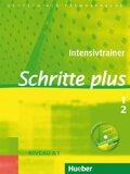 Schritte plus - Deutsch als Fremdsprache: Intensivtrainer, m. Audio-CD; Bd.1/2