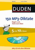 Duden 150 MP3-Diktate, 5. bis 10. Klasse, m. MP3-CD