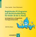 Begleitendes PC-Programm zum Rechtschreibtraining für Kinder ab der 2. Klasse, DVD-ROM für Eltern