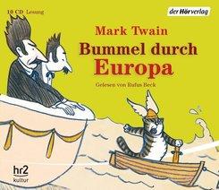 Bummel durch Europa, 10 Audio-CDs