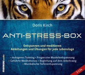Anti-Stress-Box, 5 Audio-CDs