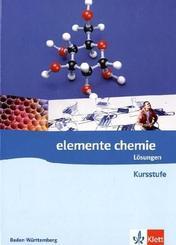 Elemente Chemie Kursstufe, Ausgabe Baden-Württemberg: 11.-12. Klasse, Lösungen