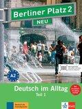 Berliner Platz NEU (Ausgabe in Teilbänden): Lehr- und Arbeitsbuch, m. Audio-CD zum Arbeitsbuchteil; Bd.2 - Tl.1
