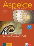 Aspekte - Mittelstufe Deutsch: Lehr- und Arbeitsbuch, m. Audio-CD; Bd.1 - Tl.2