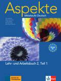 Aspekte - Mittelstufe Deutsch: Lehr- und Arbeitsbuch, m. 2 Audio-CDs; Bd.2 - Tl.1