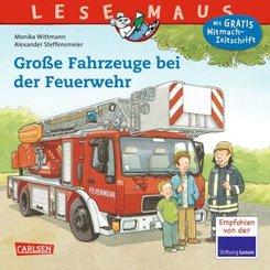 Große Fahrzeuge bei der Feuerwehr