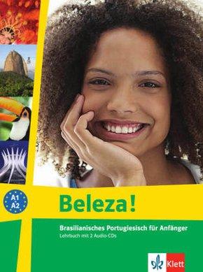 Beleza!: Lehrbuch, m. 2 Audio-CDs