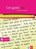 Con gusto: Trainingsbuch, m. Audio-CD; Niveau.A2