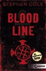 Bloodline   ; mit Folienprägung und ausgefransten Seiten USED LOOK; Übers. v. Höfker, Ursula;  -