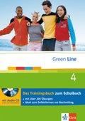 Green Line, Neue Ausgabe für Gymnasien: Klasse 8, Das Trainingsbuch m. Audio-CD; Bd.4