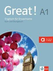 Great! A1: Lehr- und Arbeitsbuch, m. 2 Audio-CDs