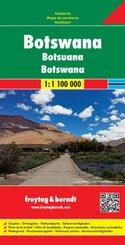 Freytag & Berndt Autokarte Botswana; Botsuana