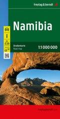 Freytag & Berndt Autokarte Namibia 1:1.000.000; Namibie