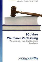 90 Jahre Weimarer Verfassung