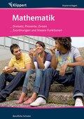 Mathematik, Dreisatz, Prozente, Zinsen / Zuordnungen und Lineare Funktionen, Kopiervorlagen