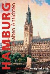 Hamburg in alten Ansichten, Postkartenbuch