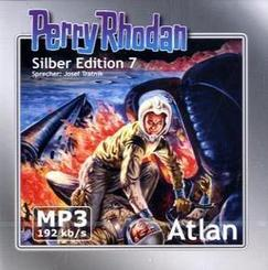 Perry Rhodan, Silber Edition - Atlan, remastered, 2 MP3 CDs