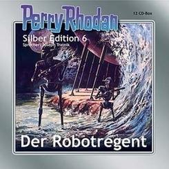 Perry Rhodan, Silber Edition - Der Robotregent, remastered, 2 MP3-CDs
