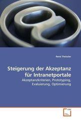 Steigerung der Akzeptanz für Intranetportale (eBook, PDF)