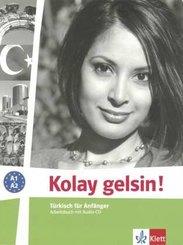 Kolay gelsin! Türkisch für Anfänger: Arbeitsbuch, m. Audio-CD