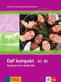 DaF kompakt: Kursbuch A1-B1, m. 3 Audio-CDs