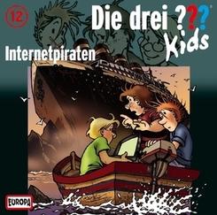Die drei ???-Kids - Internetpiraten, 1 Audio-CD