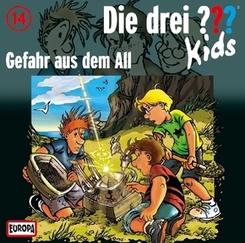 Die drei ???-Kids - Gefahr aus dem All, Audio-CD