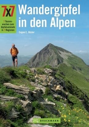 Wandergipfel in den Alpen 7 x 7