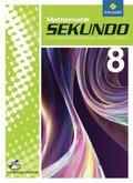 Sekundo, Ausgabe 2009: 8. Schuljahr, Schülerband m. CD-ROM