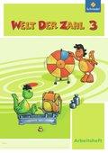 Welt der Zahl, Ausgabe 2009 Nordrhein-Westfalen: 3. Schuljahr, Arbeitsheft