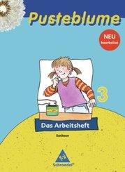 Pusteblume, Das Sachbuch, Ausgabe 2009 Sachsen: 3. Schuljahr, Das Arbeitsheft