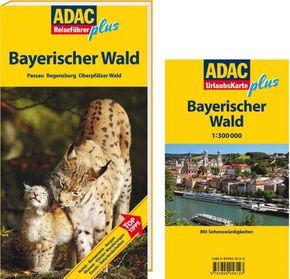 ADAC Reiseführer plus Bayerischer Wald, m. UrlaubsKarte