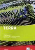 TERRA Erdkunde, Ausgabe Rheinland-Pfalz und Saarland (Neubearbeitung 2008): 7./8. Schuljahr, Arbeitsheft; Bd.2