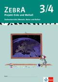 Zebra Sachunterricht: 3./4. Schuljahr, Projekt Erde und Weltall