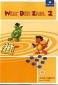 Welt der Zahl, Ausgabe 2010 Hessen, Rheinland-Pfalz und Saarland: 2. Schuljahr, Arbeitsheft m. CD-ROM