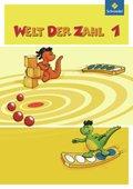 Welt der Zahl, Ausgabe 2010 Berlin, Brandenburg, Bremen, Mecklenburg-Vorp, Thüringen u. Sachsen-A.: 1. Schuljahr, Schülerband