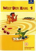 Welt der Zahl, Ausgabe 2010 Berlin, Brandenburg, Bremen, Mecklenburg-Vorp, Thüringen u. Sachsen-A.: 1. Schuljahr, Arbeitsheft m. CD-ROM
