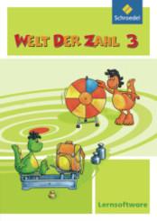 Welt der Zahl - Lernsoftware, Ausgabe 2009: 3. Schuljahr, 1 CD-ROM