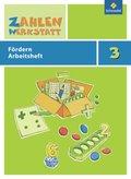 Zahlenwerkstatt, Materialsammlung: 3. Schuljahr, Fördern Arbeitsheft