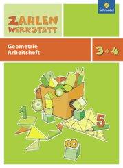 Zahlenwerkstatt, Materialsammlung: 3.+4. Schuljahr, Geometrie Arbeitsheft
