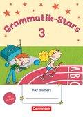 Grammatik-Stars: 3. Schuljahr - Übungsheft
