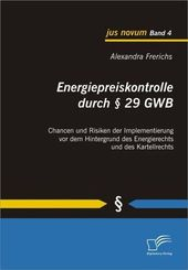Energiepreiskontrolle durch   29 GWB