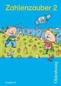 Zahlenzauber, Ausgabe G: 2. Schuljahr, Schülerbuch mit Kartonbeilagen