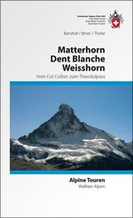 Matterhorn, Dent Blanche, Weisshorn